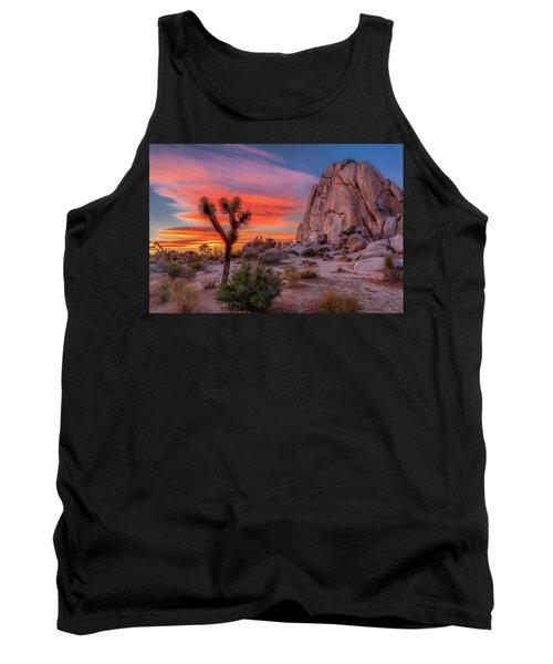 Joshua Tree Sunset Tank Top