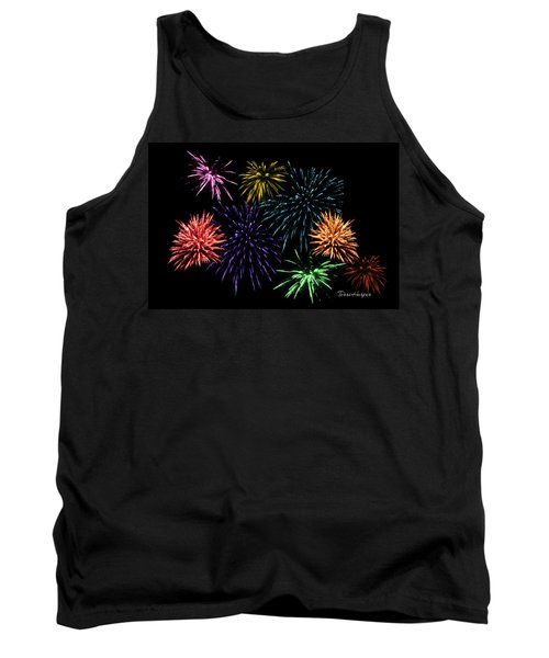 July Fireworks Montage Tank Top