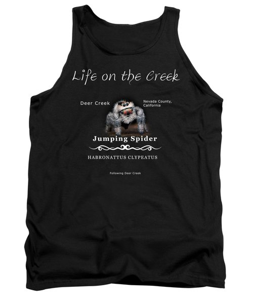 Jumping Spider Tank Top