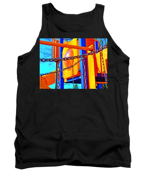 Jungle Gym Tank Top by Tobeimean Peter