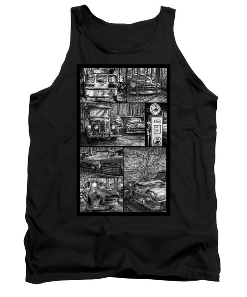 Junk Yard Cars Tank Top