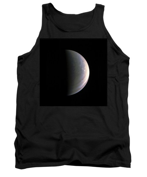 Tank Top featuring the photograph Juno Closing In On Jupiter's North Pole by Nasa