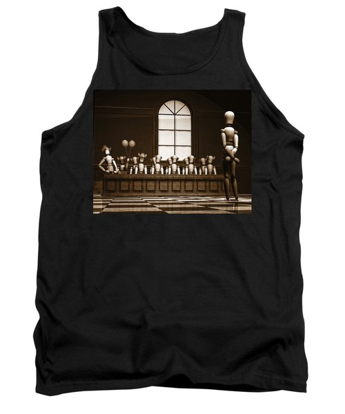 Jury Of Your Peers Tank Top by Bob Orsillo