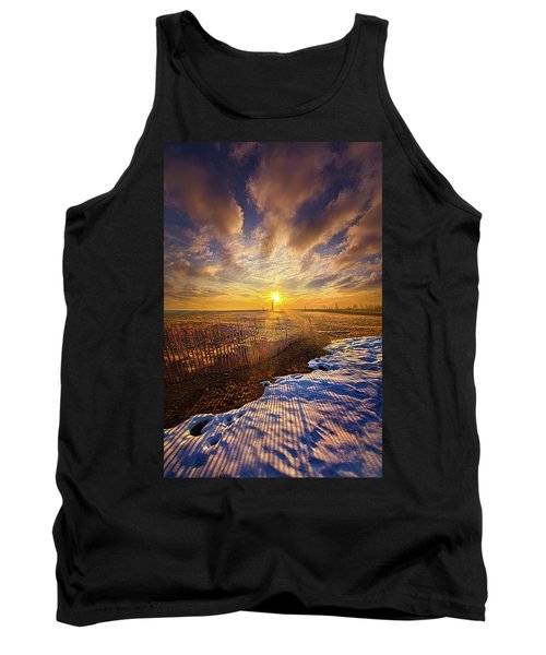 Tank Top featuring the photograph Just A Bit More To Go by Phil Koch