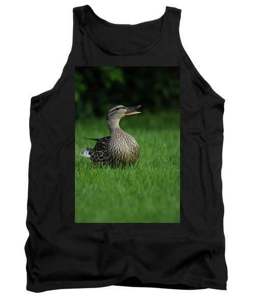 Just A Happy Duck Tank Top