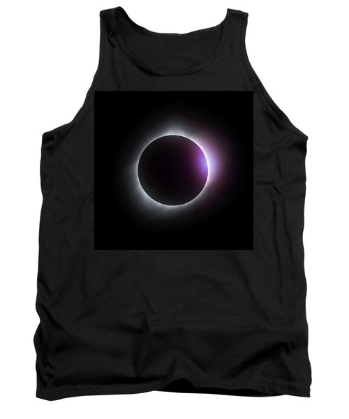 Just After Totality - Solar Eclipse August 21, 2017 Tank Top