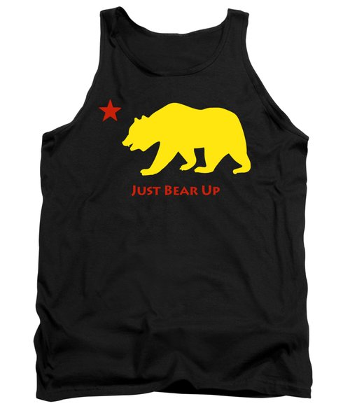 Just Bear Up Tank Top by Jim Pavelle