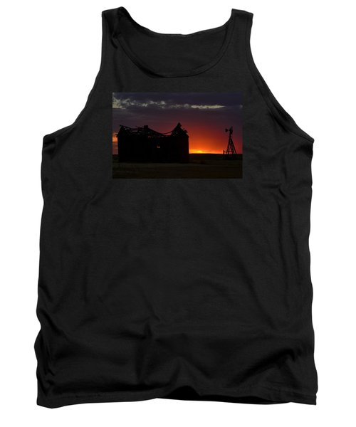Tank Top featuring the photograph Just Before Sunrise by Clarice  Lakota