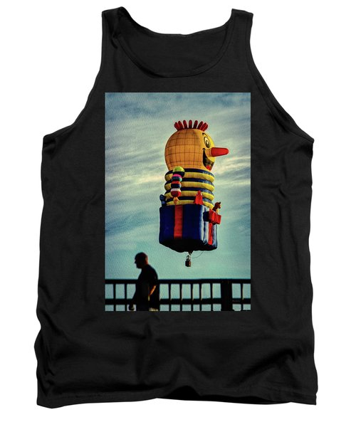 Just Passing Through  Hot Air Balloon Tank Top