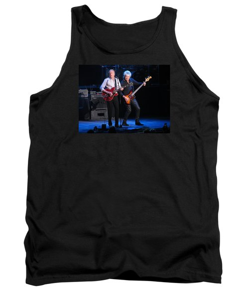 Tank Top featuring the photograph Justin And John In Concert 2 by Melinda Saminski