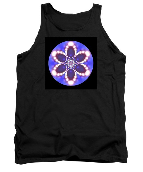 Tank Top featuring the digital art Jyoti Ahau 24 by Robert Thalmeier