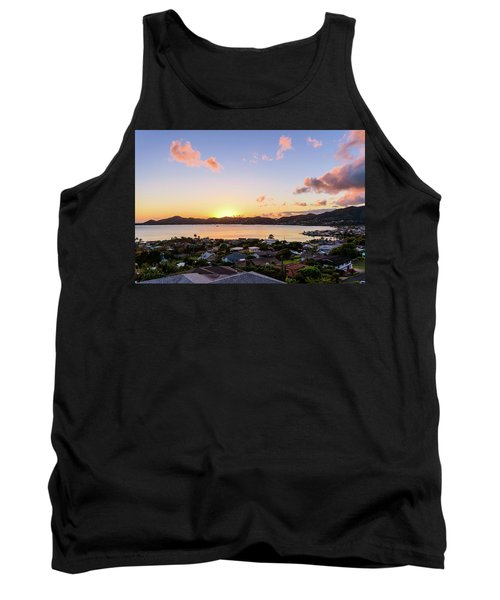 Kaneohe Bay Sunrise 1 Tank Top