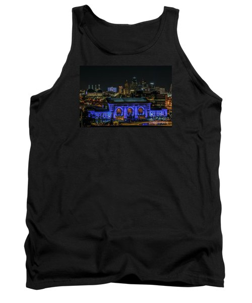 Kansas City In Royal Blue Tank Top