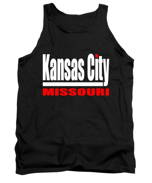 Kansas City Missouri Design Tank Top