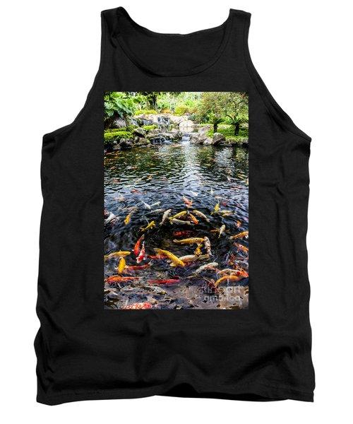 Kauai Koi Pond Tank Top by Darcy Michaelchuk