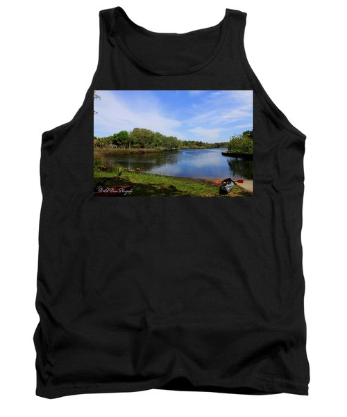 Kayaking The Cotee River Tank Top