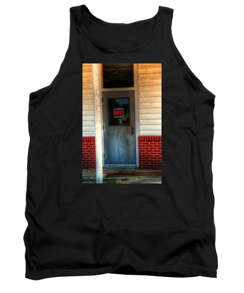Keep Out Tank Top by Ester  Rogers