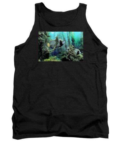 Kelp And Queen Anglefish Tank Top