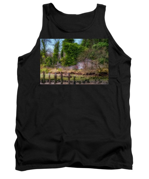 Tank Top featuring the photograph Kennetpans Distillery Ruins by Jeremy Lavender Photography