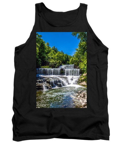 Keuka Outlet Waterfall Tank Top