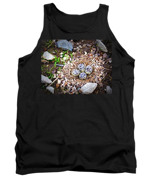 Killdeer Nest Tank Top by Cricket Hackmann