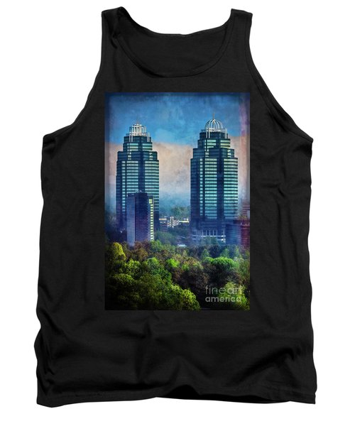 King And Queen Buildings Tank Top
