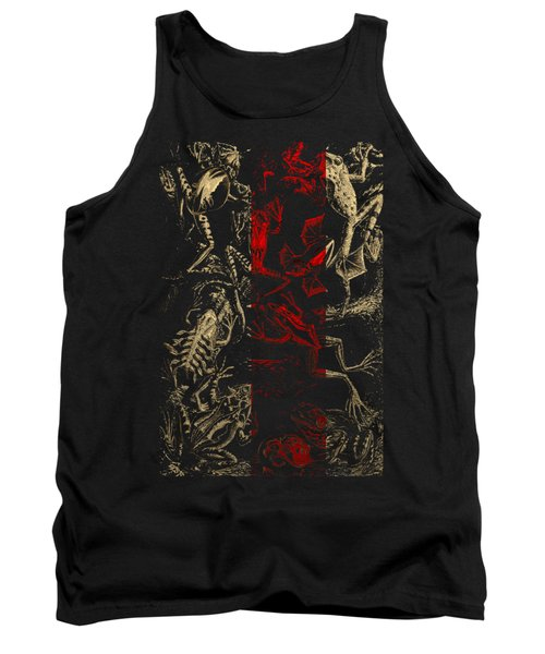 Kingdom Of The Golden Amphibians Tank Top by Serge Averbukh