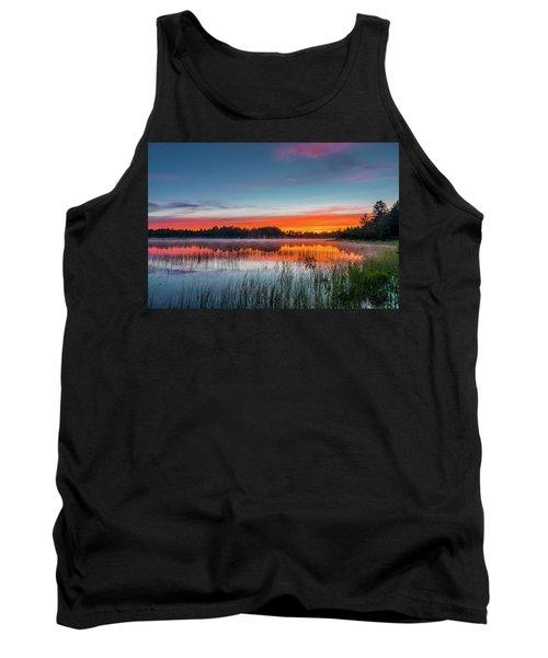 Kingston Lake Sunset Tank Top
