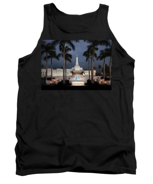 Kona Hawaii Temple-night Tank Top
