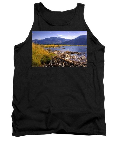 Kootenai Lake Bc Tank Top