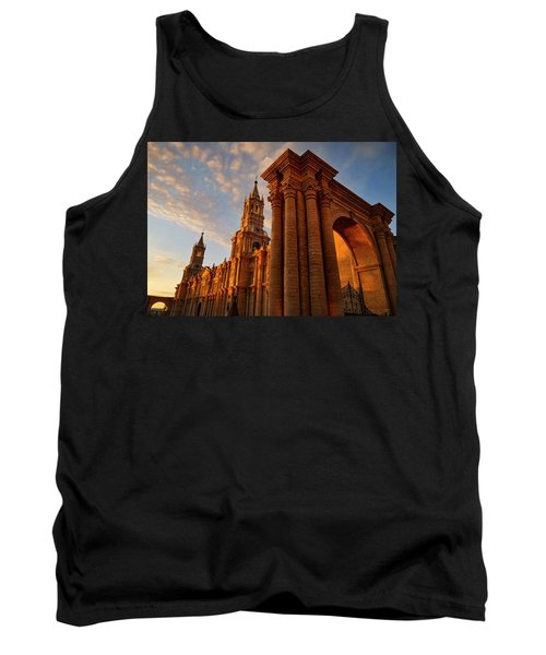 Tank Top featuring the photograph La Hora Magia by Skip Hunt