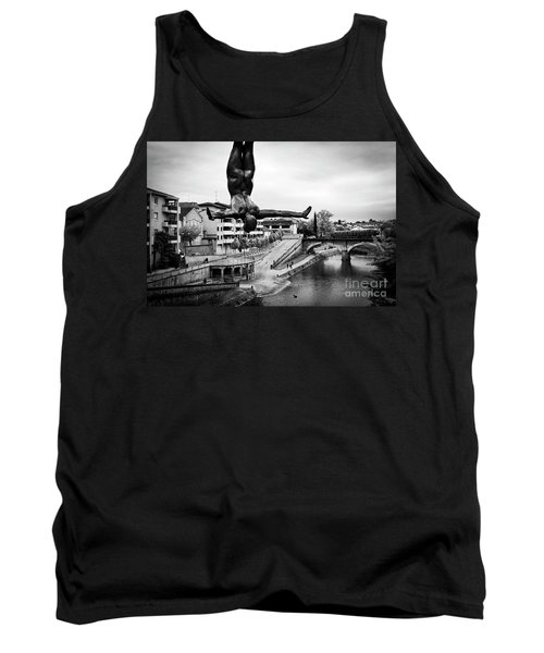 La Plongueuse Over The Midouze River Tank Top by RicardMN Photography