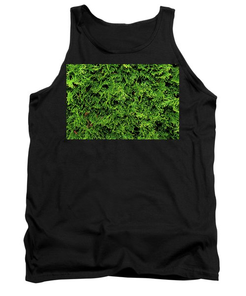 Tank Top featuring the photograph Life In Green by Dorin Adrian Berbier