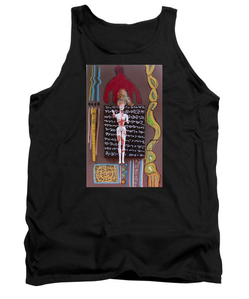 Lady's Mantle Herbal Tincture Tank Top by Clarity Artists