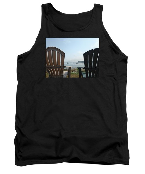 Tank Top featuring the digital art Laid Back by Olivier Calas