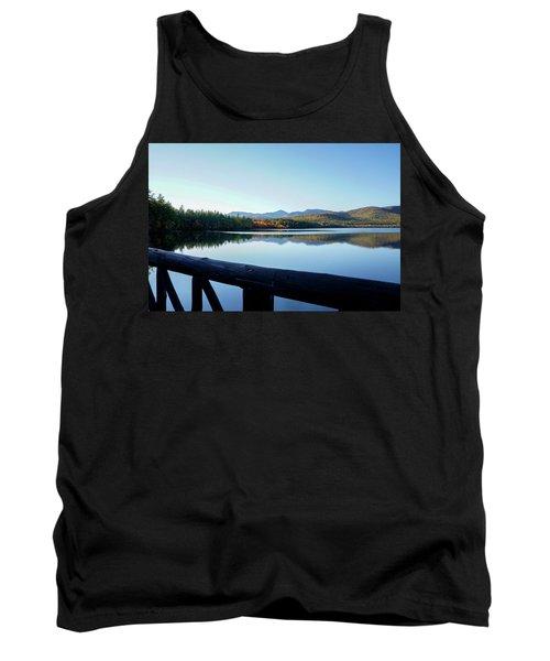 Lake Chocorua Autumn Tank Top by Nancy De Flon