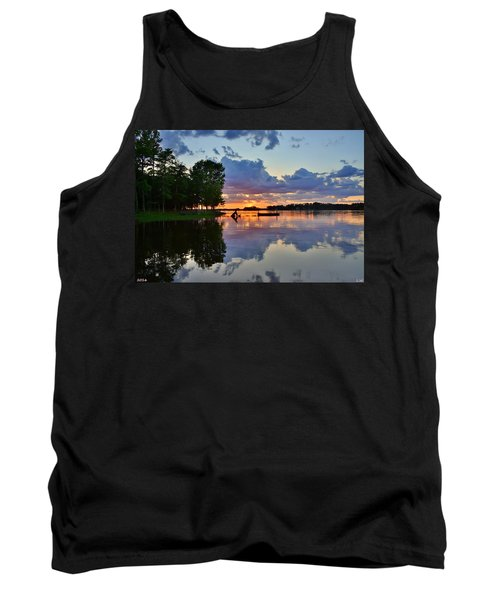 Lake Murray Sc Reflections Tank Top
