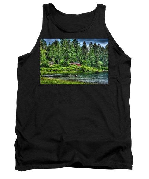 Lake Quinault 3 Tank Top by Richard J Cassato
