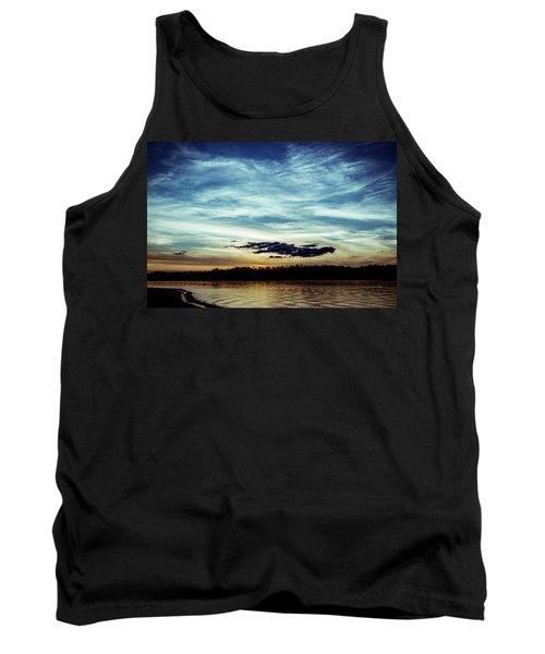 Lake Sunset Tank Top by Scott Meyer