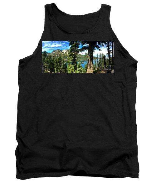 Lake Tahoe Serenity Tank Top