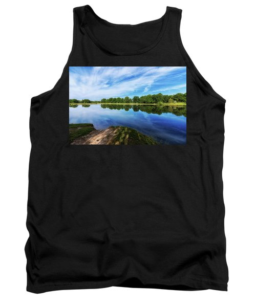Tank Top featuring the photograph Lake View by Tom Mc Nemar