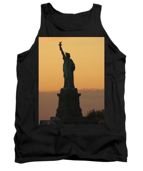 Land Of The Free And The Brave Tank Top by Emmy Marie Vickers