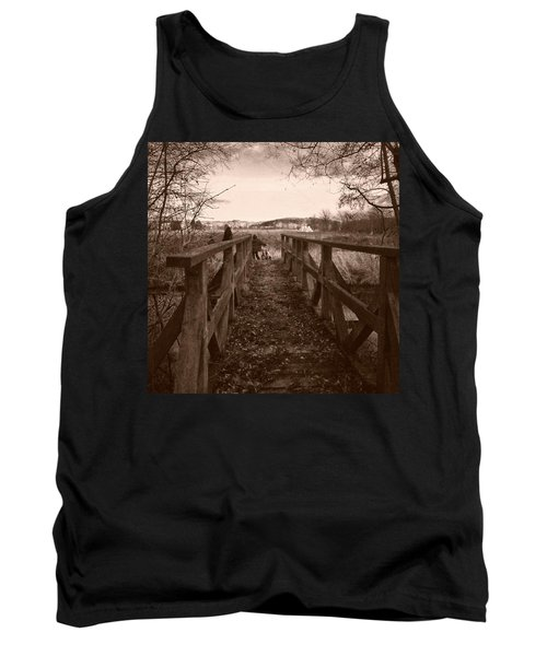 #landscape #bridge #family #tree Tank Top