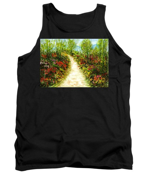 Tank Top featuring the painting Landscape by Harsh Malik