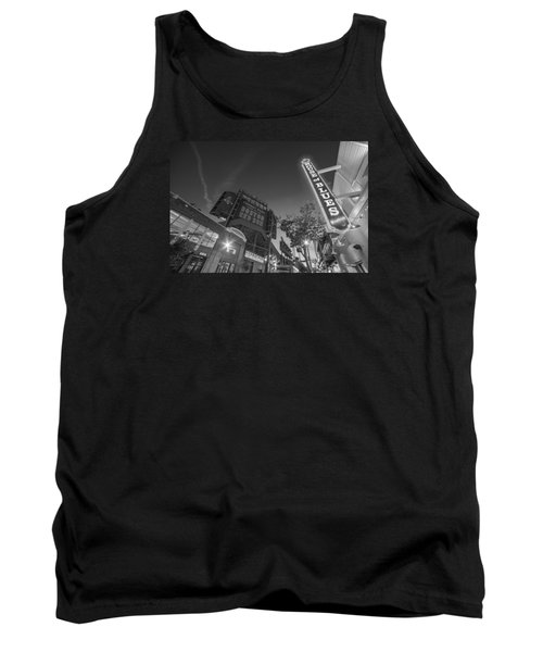 Lansdowne Street Fenway Park House Of Blues Boston Ma Black And White Tank Top