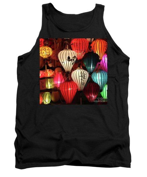 Lanterns Colors Hoi An Tank Top