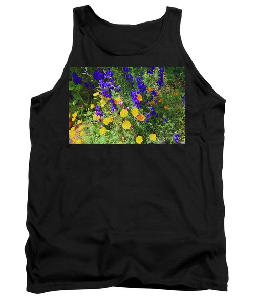 Larkspur And Primrose Garden Tank Top