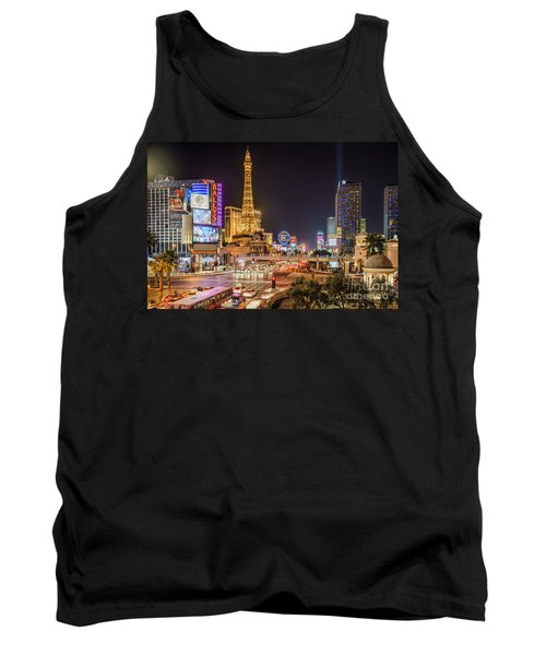 Las Vegas Strip Paris Tank Top