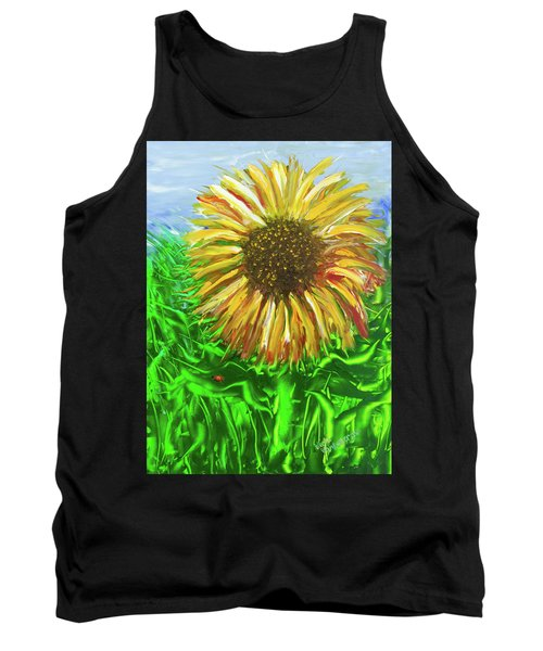 Last Sunflower Tank Top