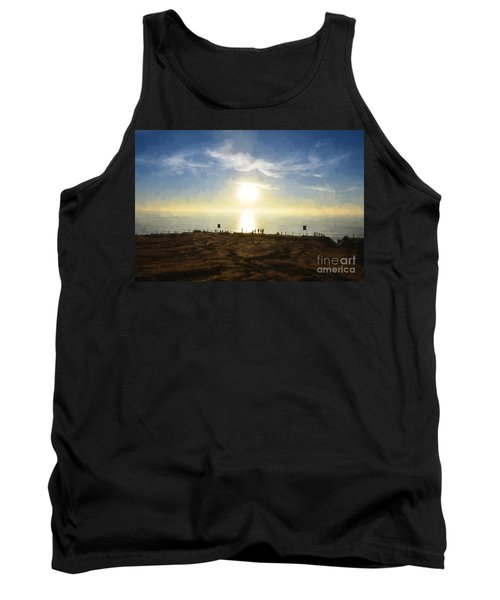 Late Afternoon - Digital Painting Tank Top by Sharon Soberon